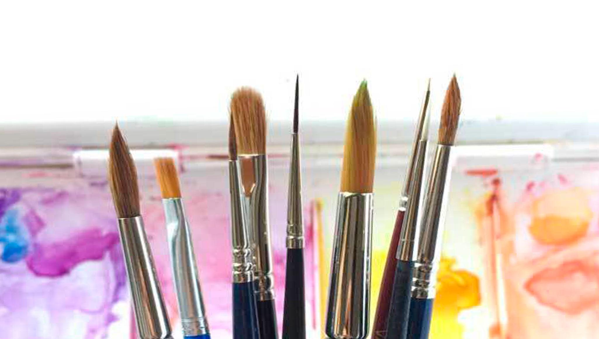 Material para pintar con acuarelas