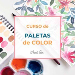 Paletas de Color Acuarela Annel Vare