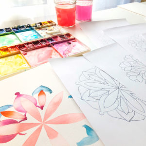 Mandalas para pintar plantillas