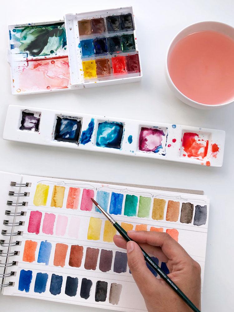 Te enseñaré cómo mezclar y elegir colores de forma simple